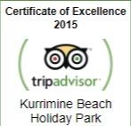 TripAdvisor Cert of Excellence 2015