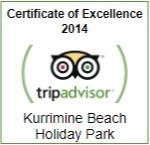 TripAdvisor Cert of Excellence 2014
