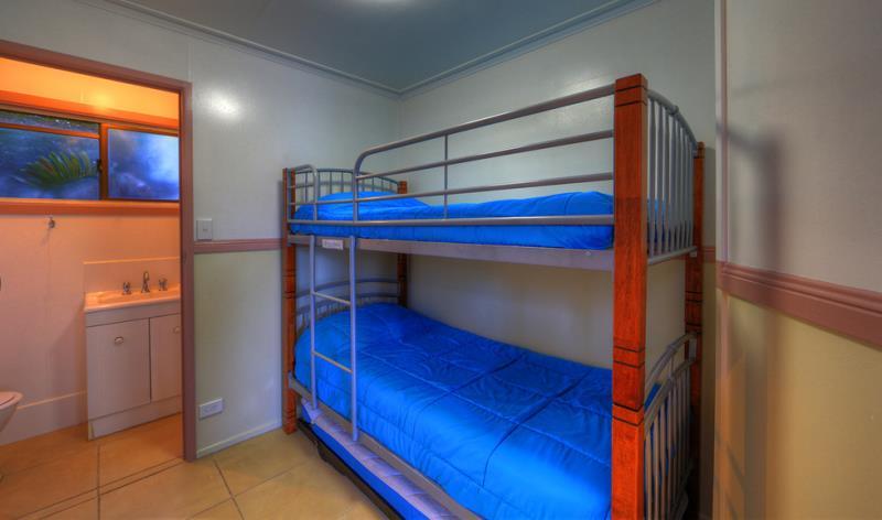 Deluxe Cabin bunk beds