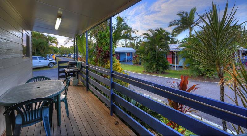 Two Bedroom Villa front deck