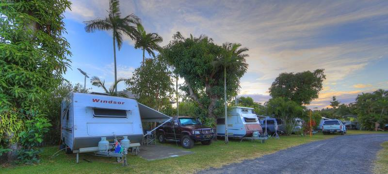 Caravan campsites