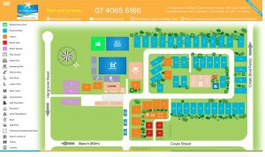 Kurrimine Campsite area plan